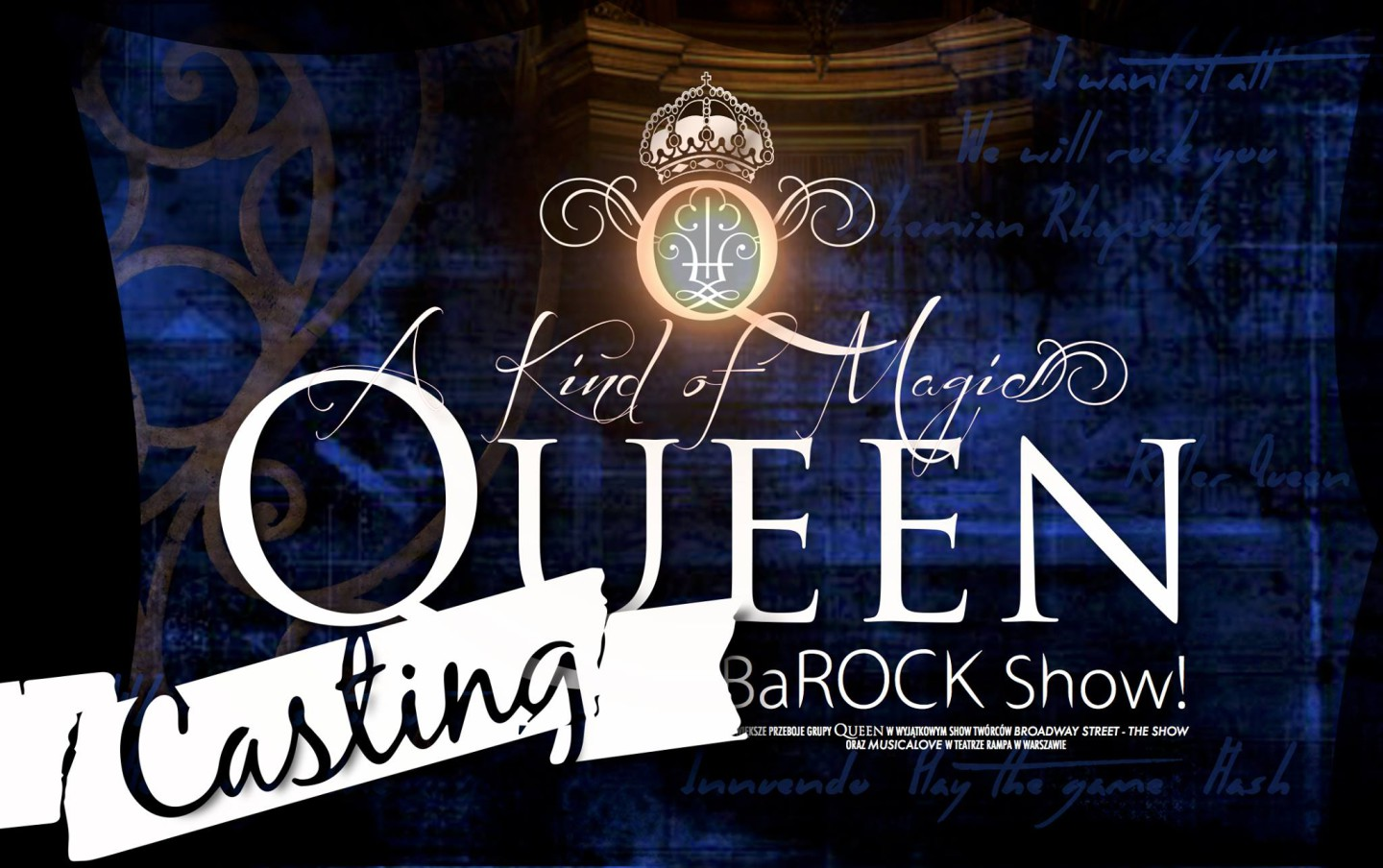 Musical Queen casting